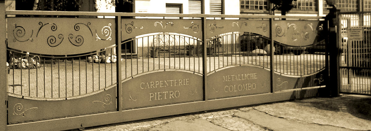 carpenterie metalliche pietro colombo