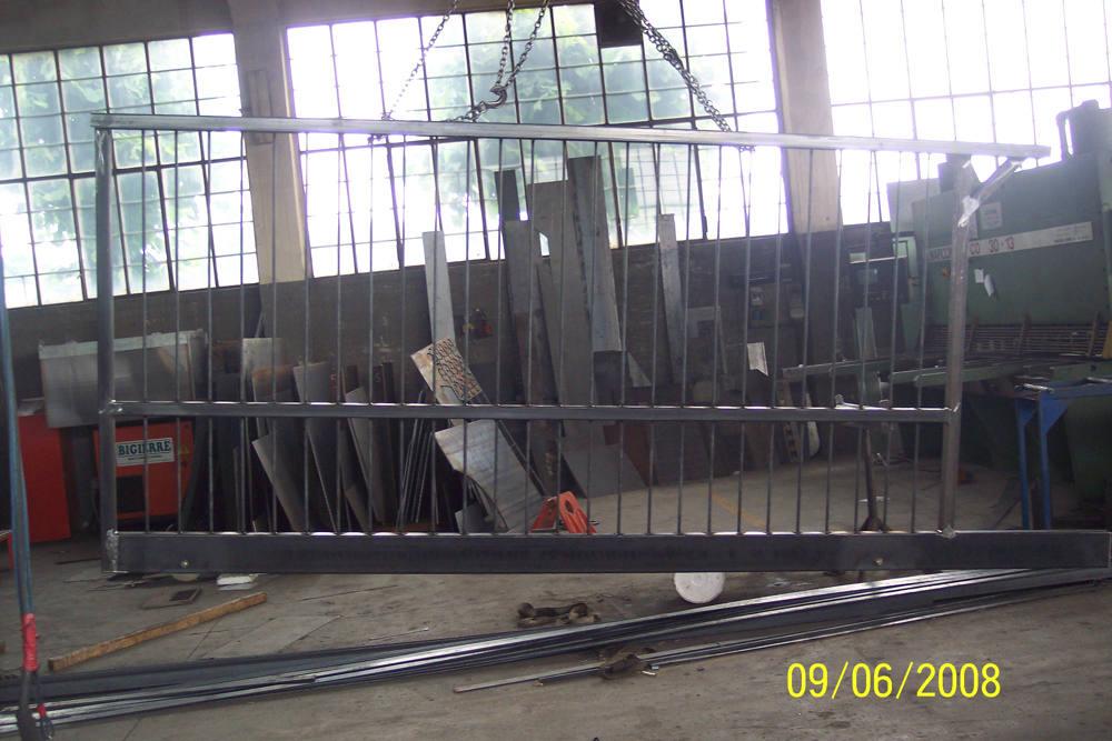 realizzazione cancelli in ferro lecco como 08