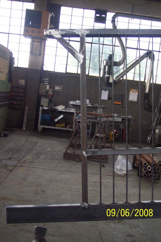 realizzazione cancelli in ferro lecco como 13