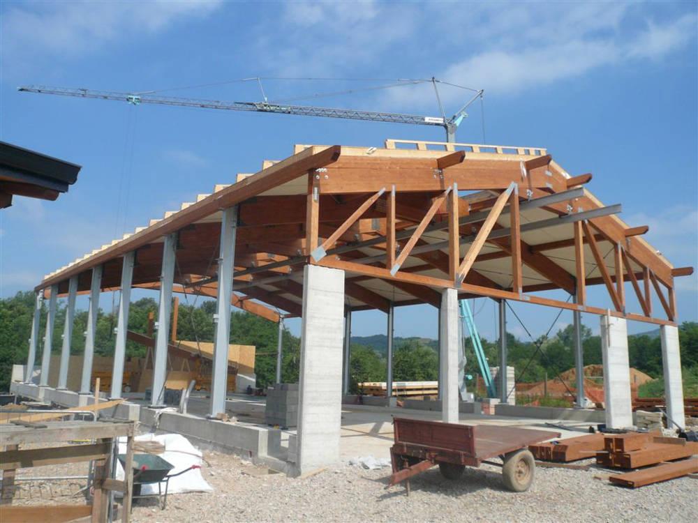 realizzazione carpenteria edile lecco como 13