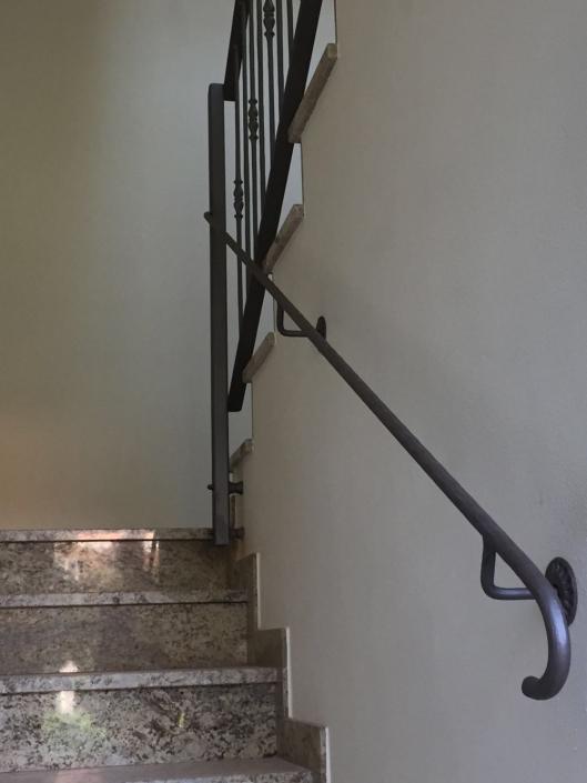 realizzazione parapetti in metallo lecco como 06