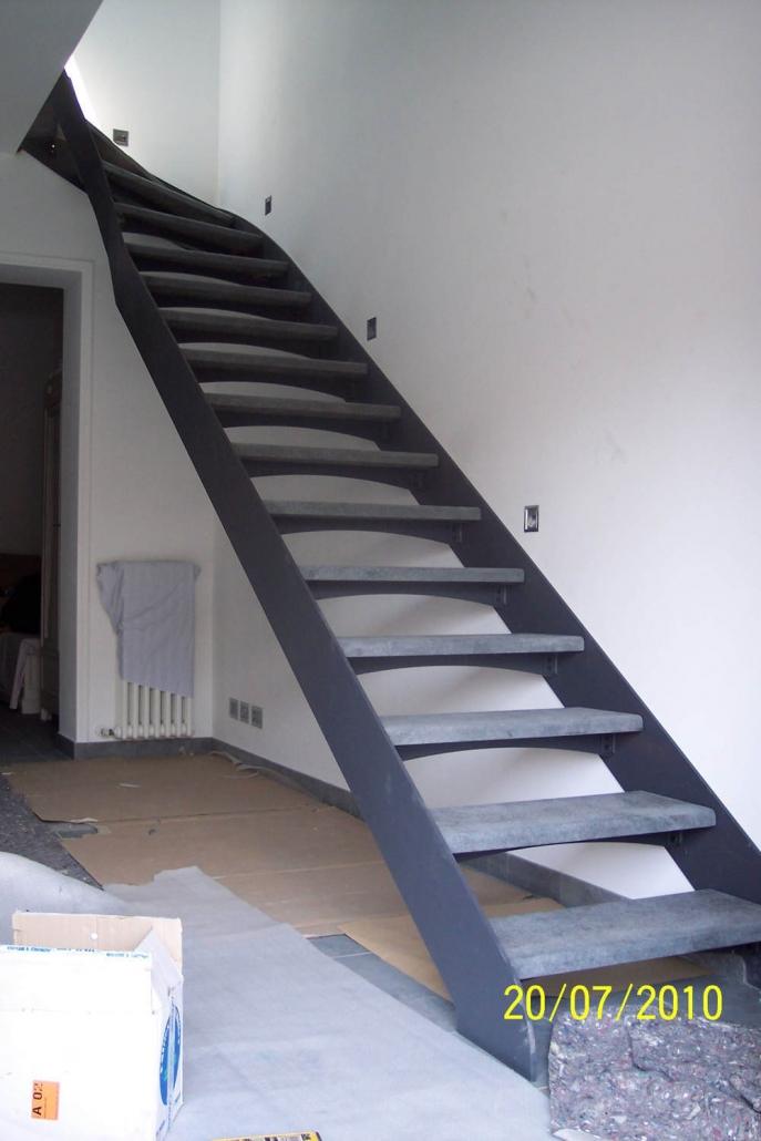 realizzazione scale in metallo lecco como 19