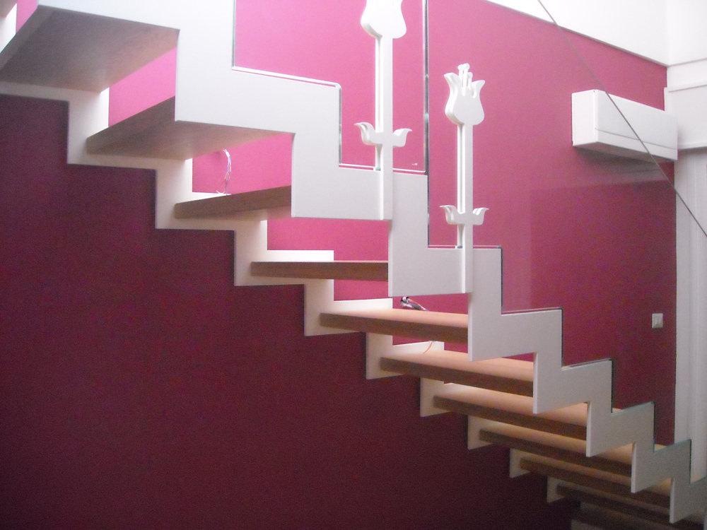 realizzazione scale in metallo lecco como 21