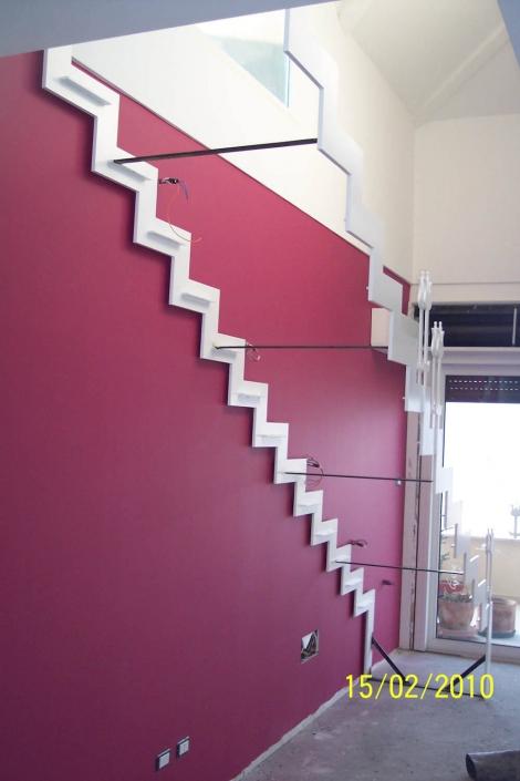 realizzazione scale in metallo lecco como 36