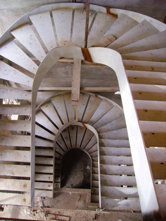 realizzazione scale in metallo lecco como 66